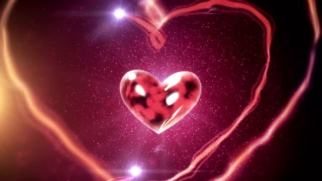Voo coração com fitas de velcro (vermelho