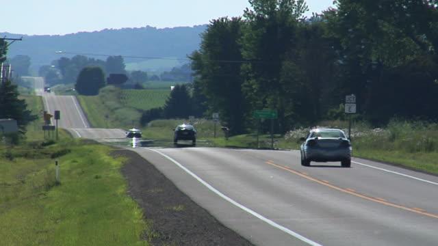 heartland roads - wisconsin stock videos & royalty-free footage