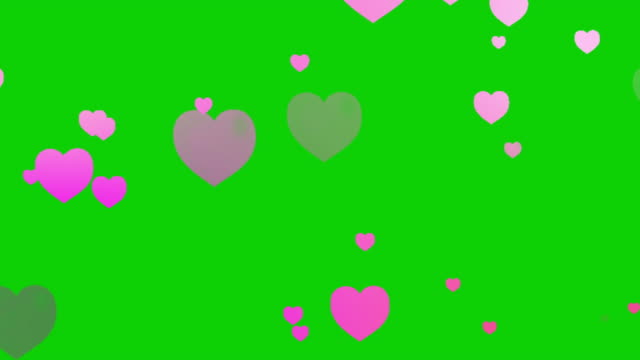hearts background animation - looping - heart stock videos & royalty-free footage