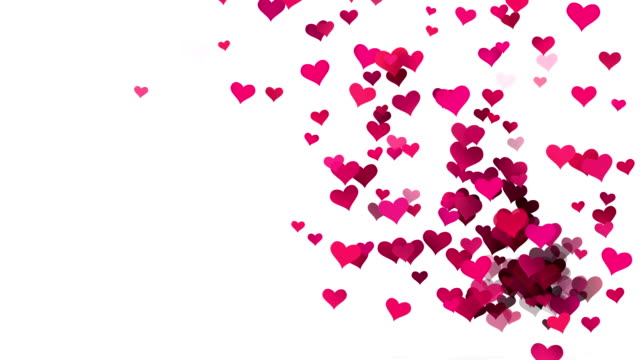 hearts background - heart stock videos & royalty-free footage