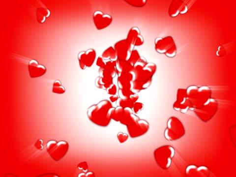 vídeos y material grabado en eventos de stock de corazones de encontrar su camino (seamless loop) (ntsc - elemento de diseño