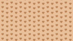 Hearts Looping Background