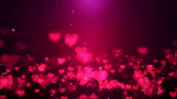 Hearts - valentine's concept Loopable