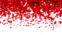 Hearts - valentine's concept (loop)