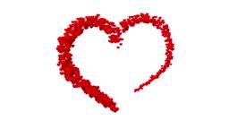 Hearts - valentine's concept