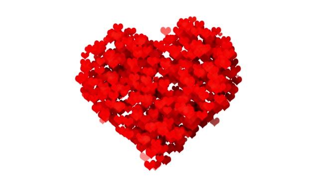 Hart - Valentijnsdag concept