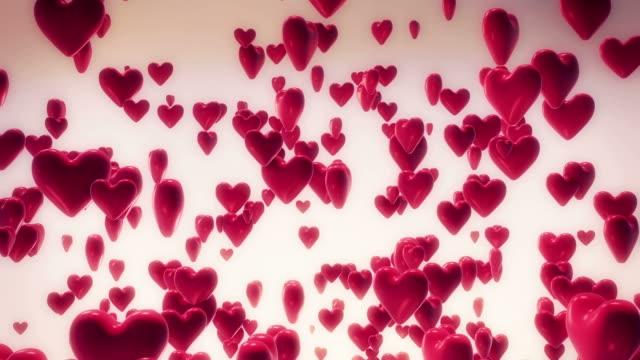 vídeos de stock, filmes e b-roll de corações - símbolo do coração