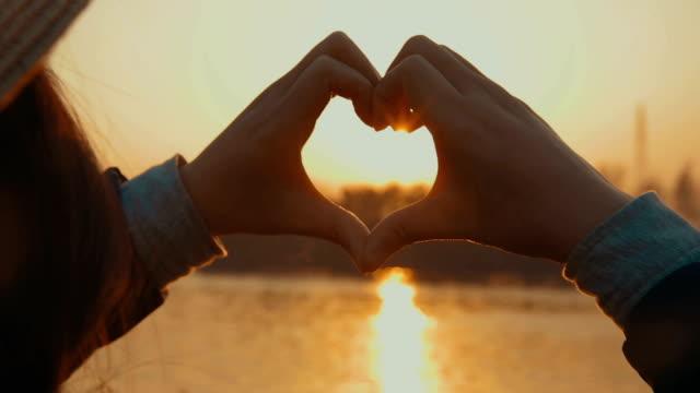 Heart-shape for the sunlight