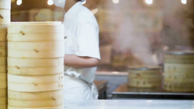 Heat - Temperature Chinese Food : Dim sum Cooking