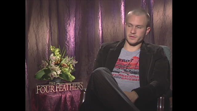 vídeos de stock, filmes e b-roll de heath ledger on leaving home to become an actor - heath ledger