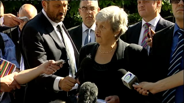 danilo restivo found guilty denise le voir speaking to press sot eight long years waiting for someone to be charged with heather's murder our... - zahl 8 stock-videos und b-roll-filmmaterial