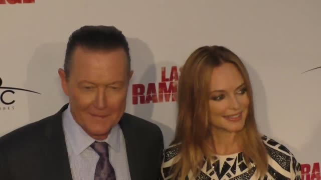 heather graham and robert patrick at the premiere of 'last rampage the escape of gary tison' from epic pictures releasing at arclight cinemas on june... - arclight cinemas hollywood 個影片檔及 b 捲影像