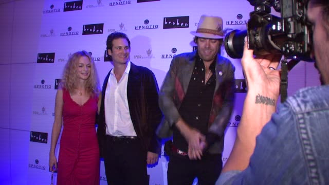 heather graham at the 'broken' premiere and after party at d'or at amalia in new york new york on october 2 2007 - dor stock videos & royalty-free footage