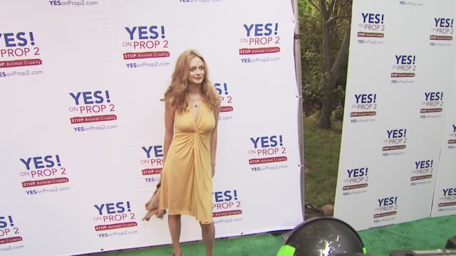 Heather Graham at the Ellen DeGeneres and Portia De Rossi host Yes On Prop 2 party at Los Angeles CA