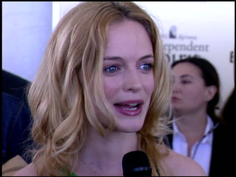 Heather Graham at the Independent Spirit Awards on March 23 2002