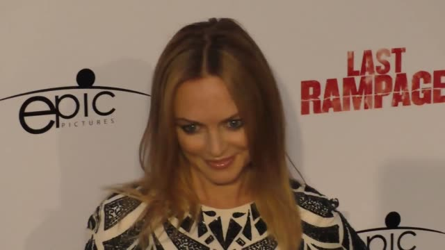 heather graham at the premiere of 'last rampage the escape of gary tison' from epic pictures releasing at arclight cinemas on june 23 2017 in... - arclight cinemas hollywood 個影片檔及 b 捲影像