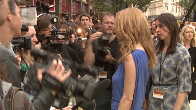 heather graham at the the hangover european premiere at london england - the morning after stock videos and b-roll footage