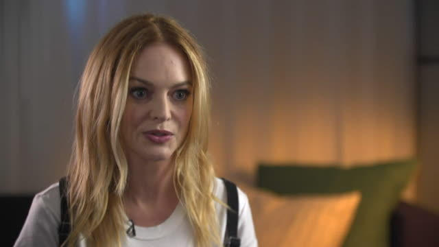 heather graham saying that men are 'starting to think about their behaviour' towards women in the workplace - social movement stock videos & royalty-free footage