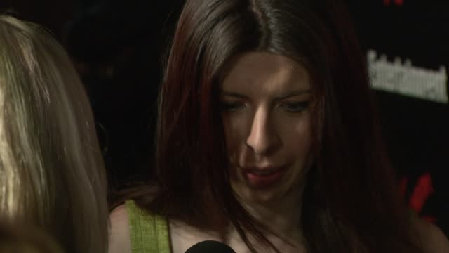 stockvideo's en b-roll-footage met heather matarazzo at the upfront party hosted by entertainment weekly and vavoom at the box in new york, new york on may 15, 2007. - entertainment weekly