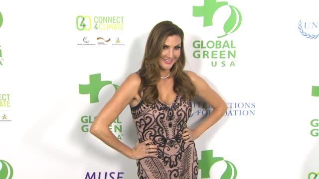 vídeos de stock, filmes e b-roll de heather mcdonald at global green usa 13th annual preoscar® party in los angeles ca - global green usa