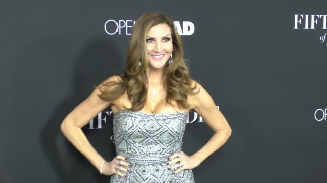 Heather McDonald at the Fifty Shades Of Black Premiere at Regal Cinemas in Los Angeles Celebrity Sightings on January 26 2016 in Los Angeles...