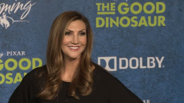 heather mcdonald at the good dinosaur world premiere at the el capitan theatre on november 17 2015 in hollywood california - el capitan theatre stock videos and b-roll footage