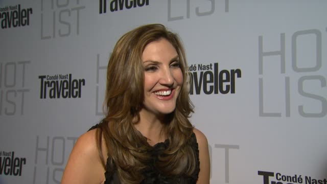 Heather McDonald on the event at the Conde Nast Traveler Hot List Party at West Hollywood CA