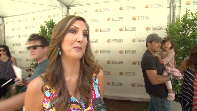 Heather McDonald on today's event on the work EGPAF does and on what she's looking forward to at 23rd Annual 'A Time For Heroes' Celebrity Picnic...