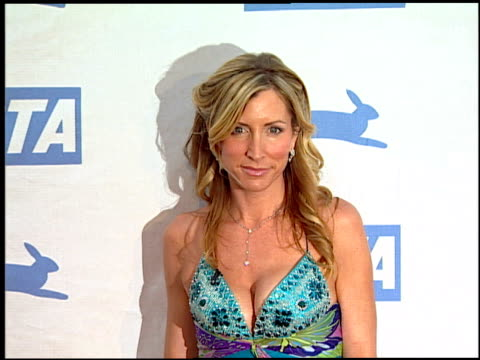 heather mills mccartney at the peta's 25th anniversary gala and humanitarian awards show at paramount studios in hollywood california on september 10... - paramount studios stock videos and b-roll footage
