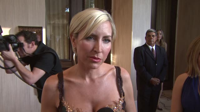 Heather Mills on the event the Canadian Seal Hunt animal advocacy at the 23rd Genesis Awards at Los Angeles CA