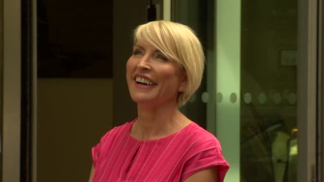 heather mills outside the high court after settling her legal action for phone hacking against the news of the world newspaper - smiling stock videos & royalty-free footage