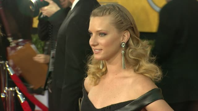 Heather Morris at 18th Annual Screen Actors Guild Awards Arrivals on 1/29/12 in Los Angeles CA