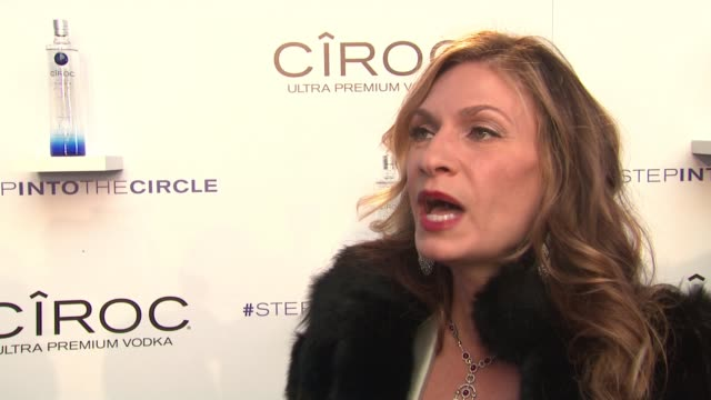 "heather thomson on sean diddy combs' style of going big, on ciroc being gluten-free at ciroc's ""step into the circle"" launch hosted by sean diddy... - gluten free stock videos & royalty-free footage"