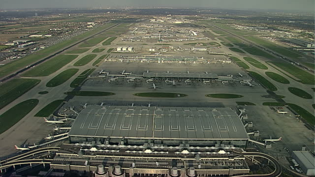 aerial heathrow airport from the west - wide stock videos & royalty-free footage