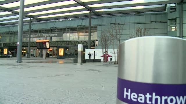 heathrow airport in london - aerospace stock videos & royalty-free footage