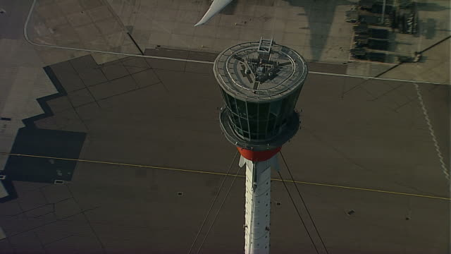 AERIAL Heathrow Airport Tower