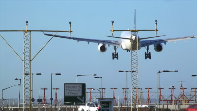heathrow airport - heathrow airport stock videos and b-roll footage
