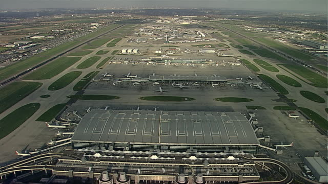 heathrow from the west 2 - heathrow airport stock videos and b-roll footage