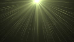 4K Heaven lights from above soft optical lens flares shiny animation art background animation. Motion graphic natural lighting lamp rays shiny effect dynamic colorful.