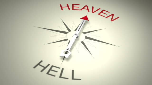 heaven versus hell - heaven stock videos & royalty-free footage