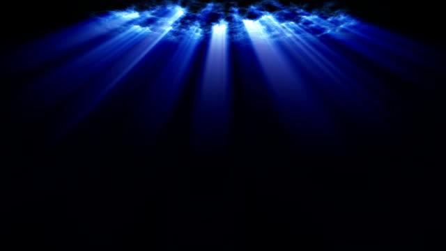 Heavenly Cloud con i raggi di luce
