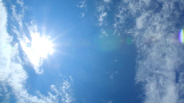 TL: himmlischen Wolken mit Sonne Strahlen