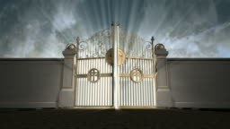 heavens gates opening static new