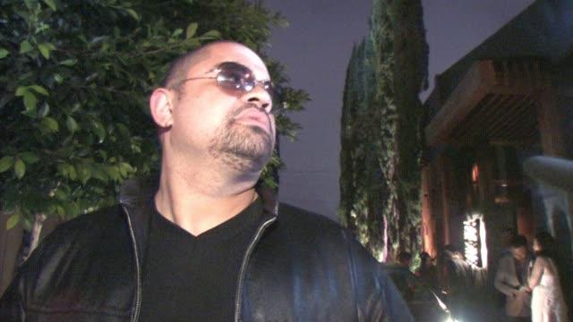 heavy d at nobu in west hollywood at the celebrity sightings in los angeles at los angeles ca - nobu restaurants stock videos & royalty-free footage