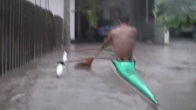 heavy flooding hit tahiti, the largest island in french polynesia, on sunday, january 22, prompting many residents to evacuate to higher ground. this... - french polynesia stock videos & royalty-free footage