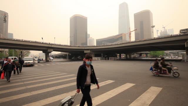heavy haze in Beijing
