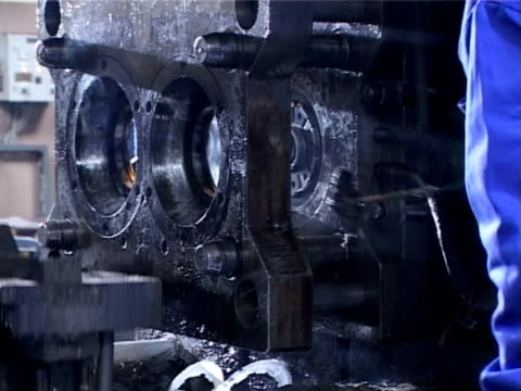 heavy industry metal casting - metal industry stock videos and b-roll footage