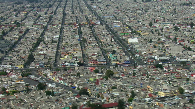 heavy overpopulation in mexico city. - population explosion stock videos and b-roll footage