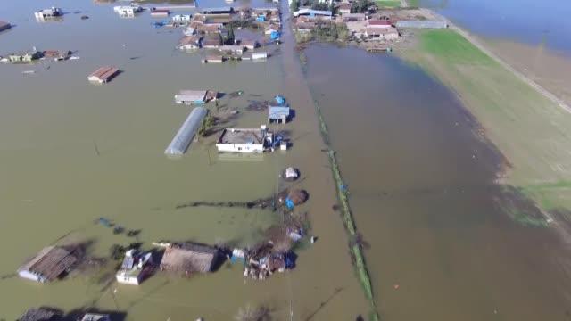 heavy rain causes flooding in turkey's southeastern hatay province on january 18 2019 - hatay stock videos & royalty-free footage