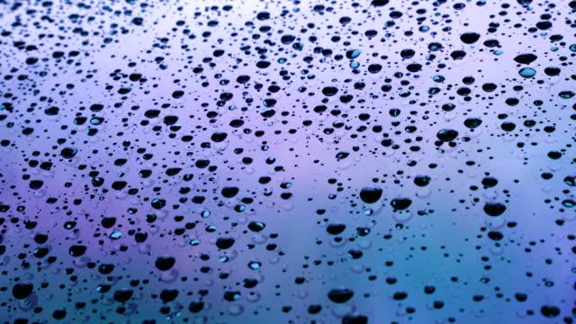 heavy rain drops on windshield. - june stock videos & royalty-free footage